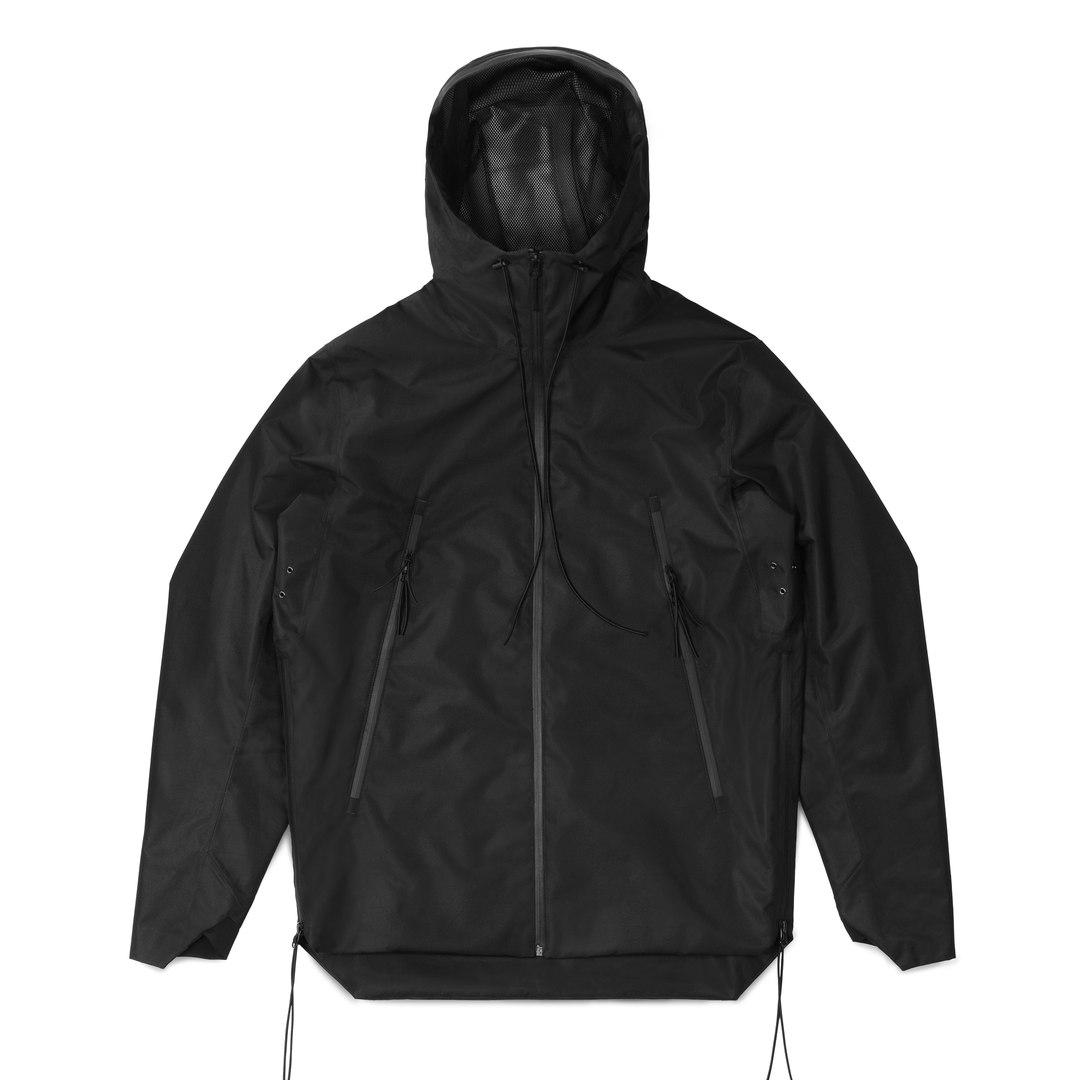 """Куртка STEEL BACK """"Гроза"""" Черный"""