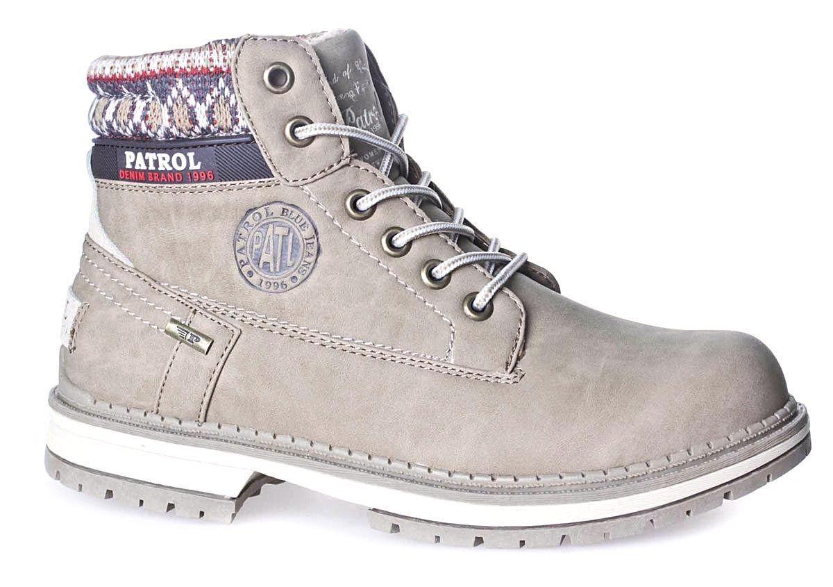 Ботинки жен PATROL 261-143IM-17w-04-4