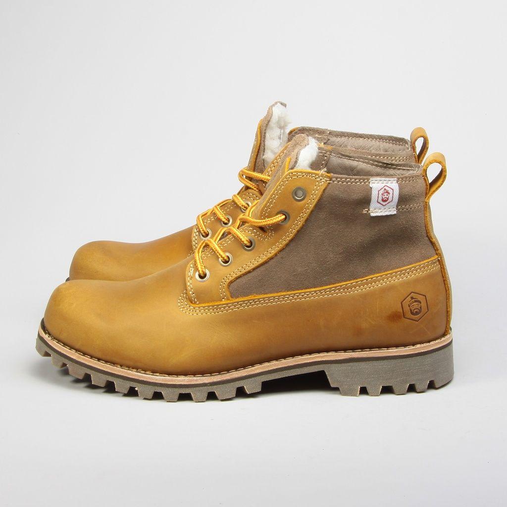 Ботинки Jack Porter Jack муж Light  BROWN TW7117(6)-04M