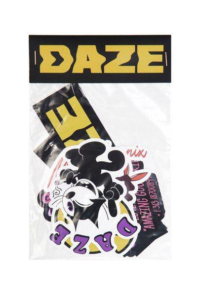 Стикеры DAZE ACID пленка вырубка