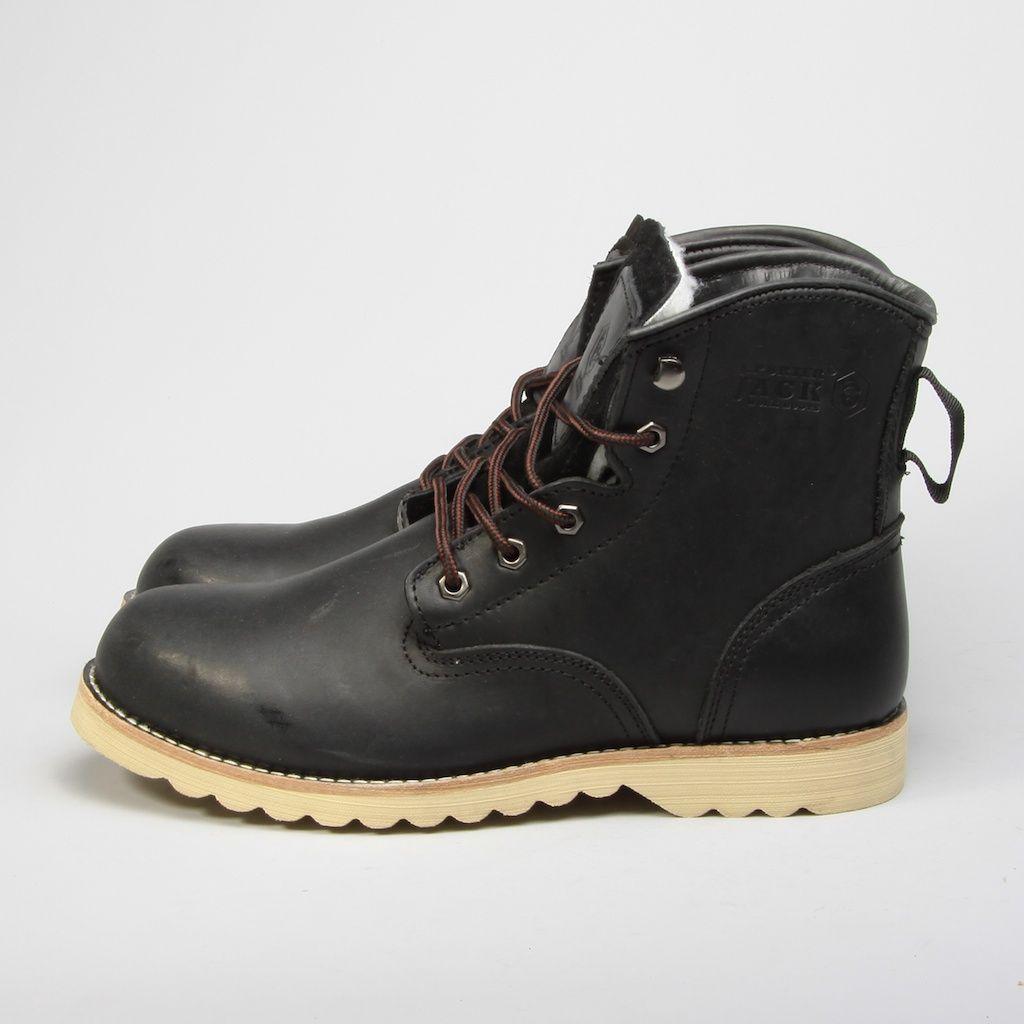 Ботинки Jack Porter Jack Муж BLACK TW7106-04-K-M
