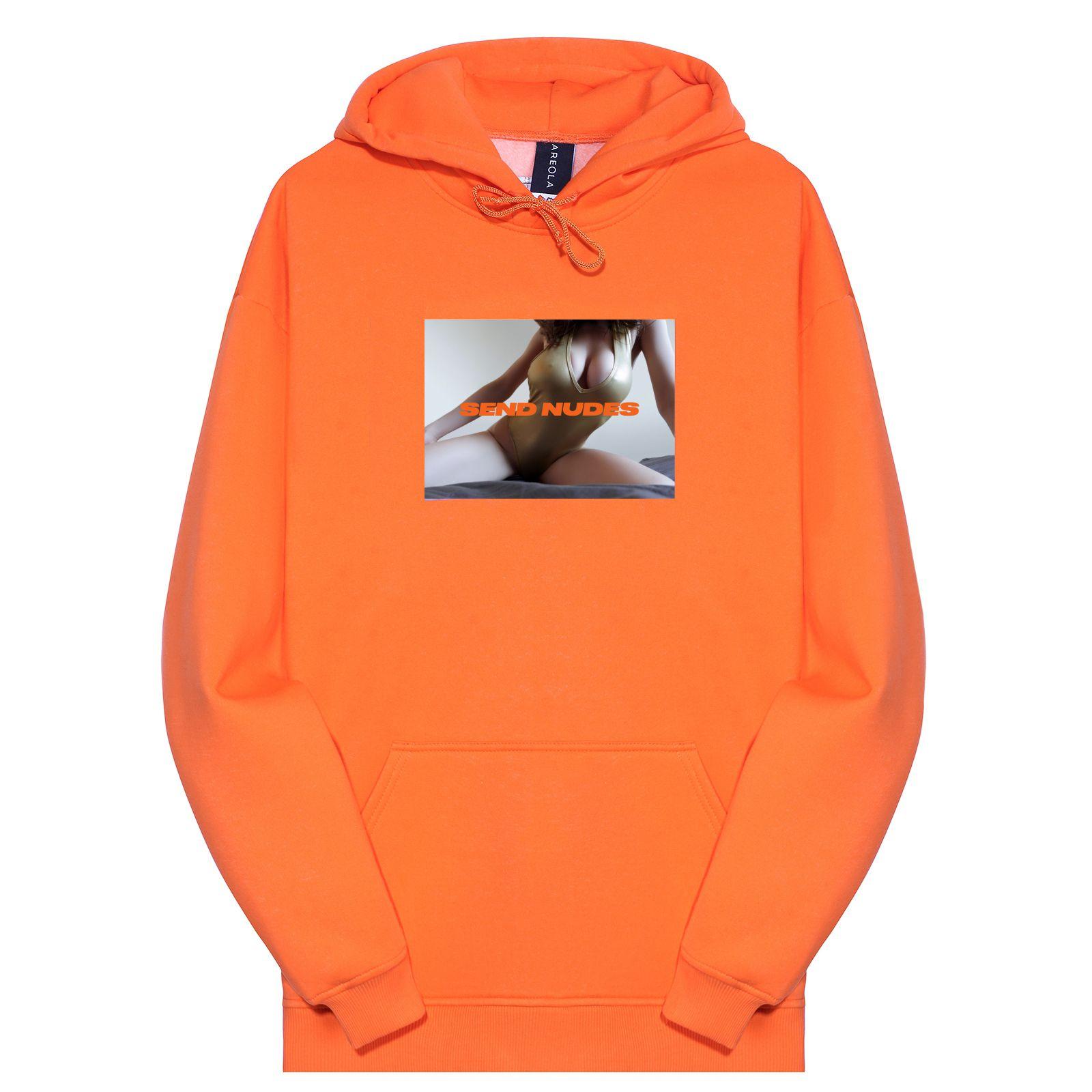 Толстовка ZIQ & YONI x AREOLA оранжевая