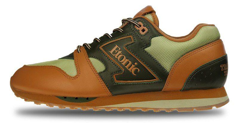 Спорт обувь ETONIC Ghurka/luxe olive/sddle