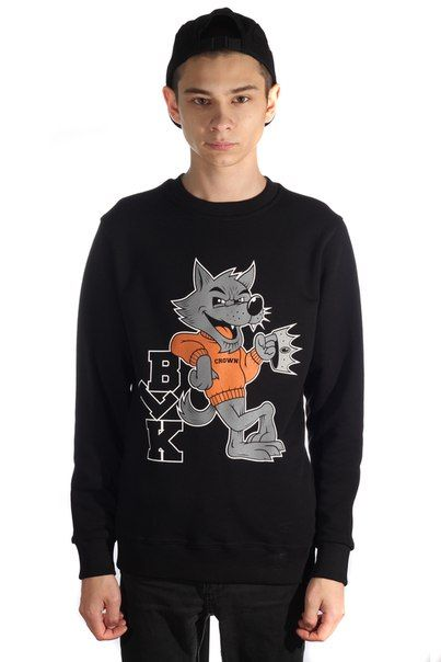 Толстовка BLK CROWN Wolf
