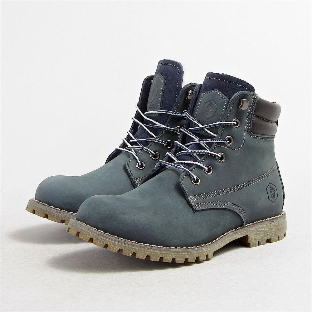 Ботинки Jack Porter Jack жен NAVY TW169-2