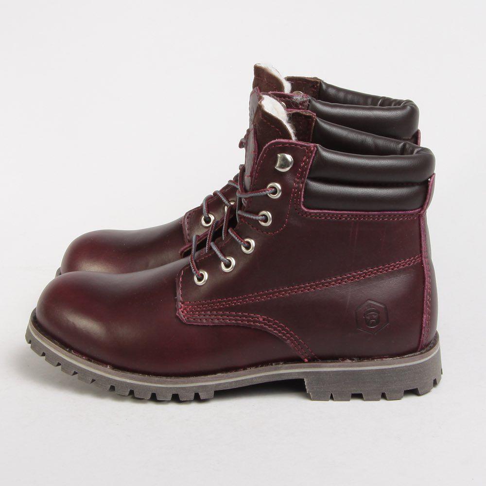 Ботинки Jack Porter Jack жен  burgundy cognac TW169-2-04-K-W