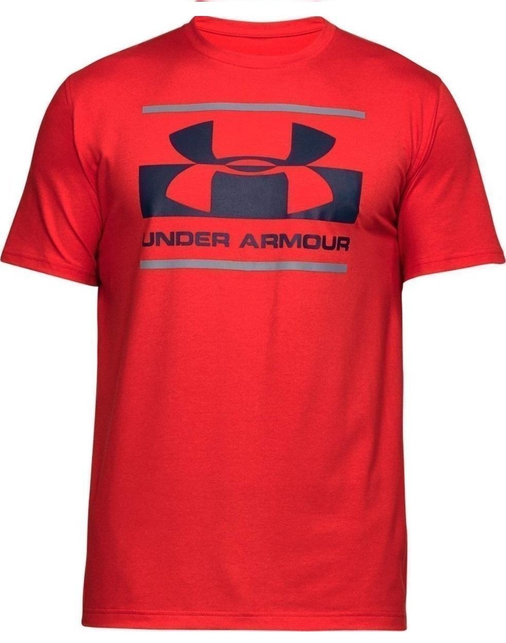 Футболка Under Armour Blocked Sportstyle Logo