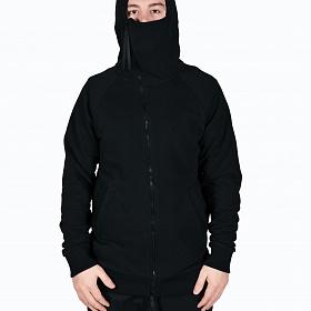 Худи HRB «Mask zipper (на молнии)» Черный Z795
