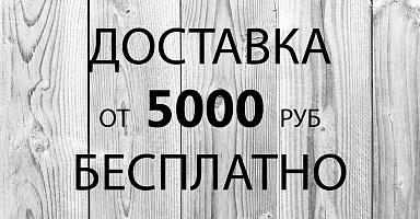 Бесплатная доставка от 5000 руб
