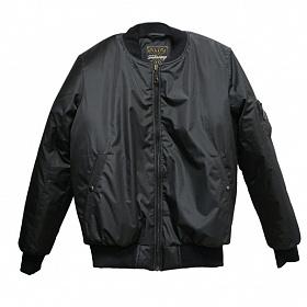 Куртка зимняя Главмотор бомбер черный GM456