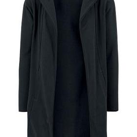Кардиган URBAN CLASSICS Long Hooded Open Edge Cardigan (Black) TB1389