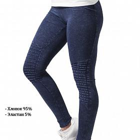 Леггинсы URBAN CLASSICS Ladies Denim Jersey Leggings (Синий) TB1056