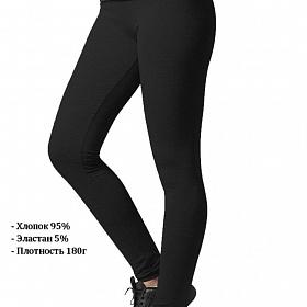 Леггинсы URBAN CLASSICS Ladies Jersey Leggings (Черный (Black) TB605