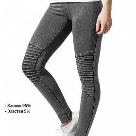 Леггинсы URBAN CLASSICS Ladies Denim Jersey Leggings (Серый) TB1056