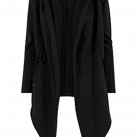 Кардиган URBAN CLASSICS Ladies Hooded Sweat Cardigan (Черный) TB1330