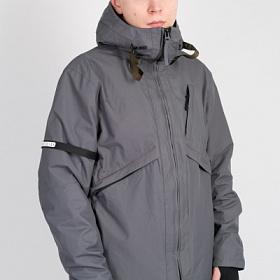 Куртка Мужская CODERED Argument COR Серый Темный Мембрана