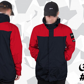 Куртка GIFTED SS17/048 красно-синий