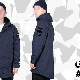 Куртка GIFTED SS17/051 темно-синий