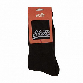 Носки SKILLS Script Logo (Черный (Black), 40-44)