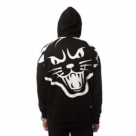 Худи Юность «Большой кот» Черный