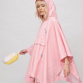 Дождевик женский ANIMALS розовый